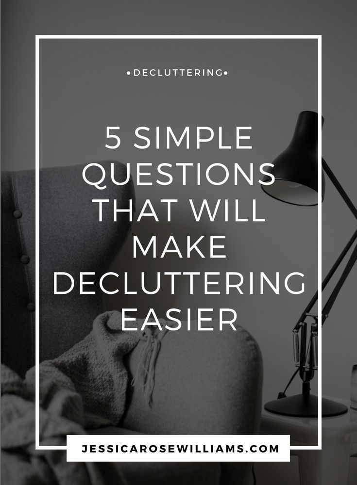 Decluttering can be tough. These are my decluttering tips and advice designed to make it easier.