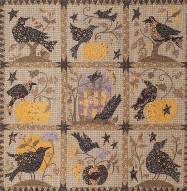The Raven Block Of The Month By Barb Adams And Alma Allen