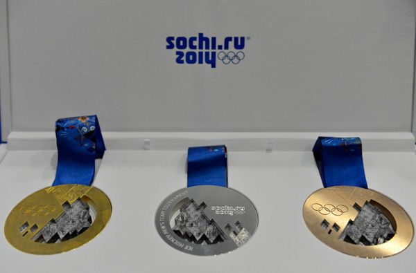 Sochi 2014 Unveils Olympic Medals