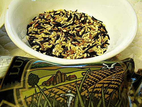 how to cook wild rice mix