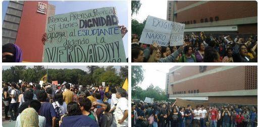Marcha a Rectoria #UNAM #FueraNarrodelaUNAM- http://www.pixable.com/share/5Y1GX/?tracksrc=SHPNAND2&utm_medium=viral&utm_source=pinterest