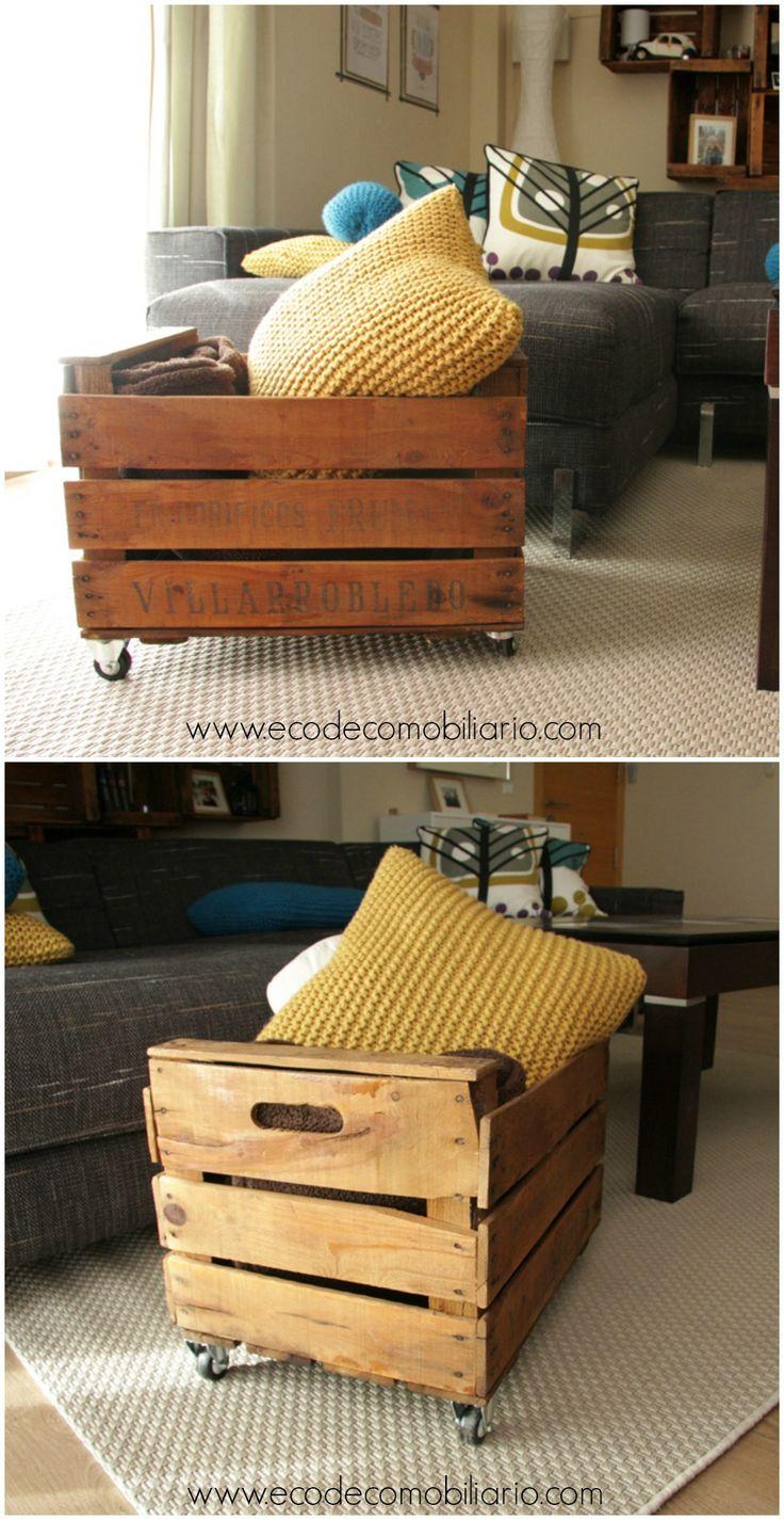 M s de 25 ideas incre bles sobre cajas de fruta en - Transformar muebles antiguos ...