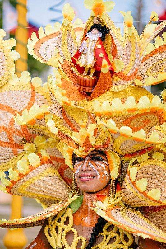 Ati-atihan Festival Participant, Kalibo, Aklan, Philippines