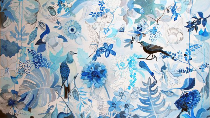 Blue Garden - Guy Harkness