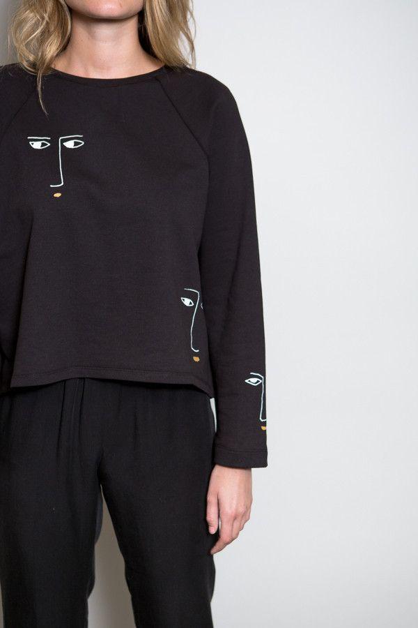BACK IN STOCK! Kowtow Black Figurine Sweater – Parc