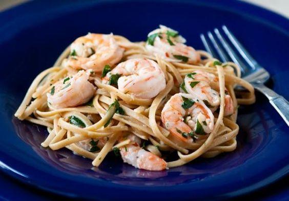 Receita de Linguini com camarão do Buddy Valastro