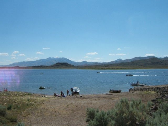 Elko NV - Wild Horse State Recreation Area: picnicking, visitor center, trails, nature study, camping, swimming, fishing, boat launch