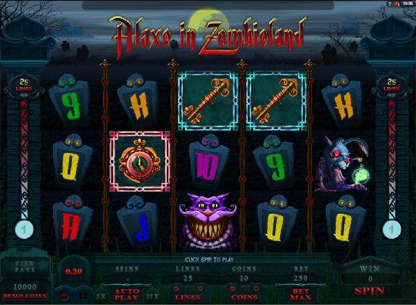 Игровой автомат Алиса играть бесплатно