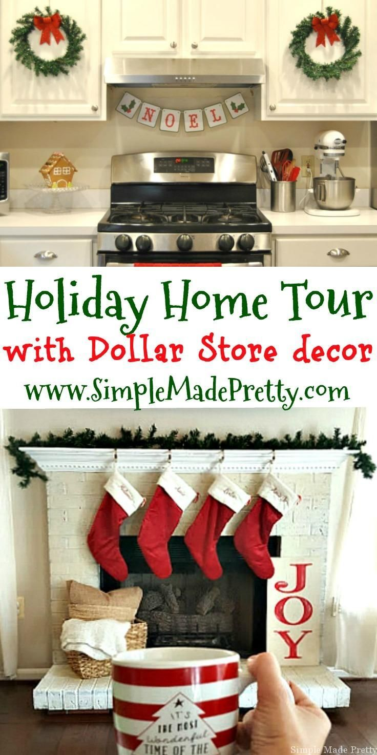 Dollar Store DIY Holiday Home Decor Ideas That Will Save You A Ton Of Money