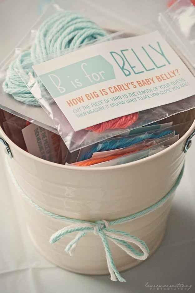 Bridal Shower Yarn Game