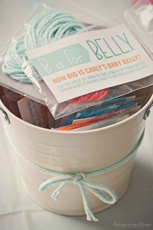 Measure Mom's Belly | 30 Baby Shower Games That Are Actually Fun
