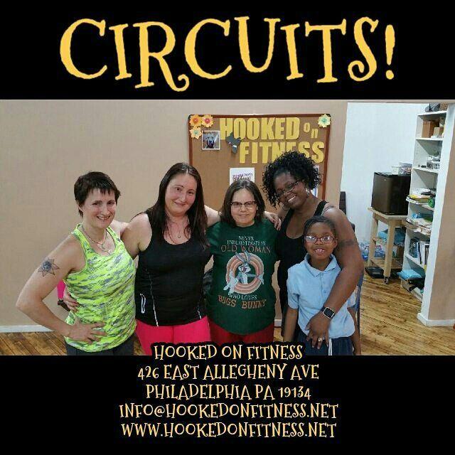 These ladies #KilledIt at tonight's Circuit Class! Way to go girls...  #HookedOnFitness #PhillyPersonalTrainer #GroupFitness #FitFam #BestInPhilly #BestInPhillyKeepsGettingBetter www.HookedOnFitness.net