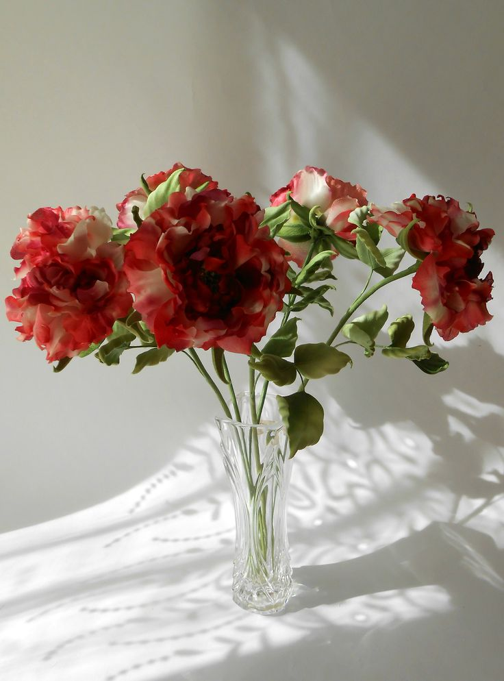 silk roses , Tanjobana technique