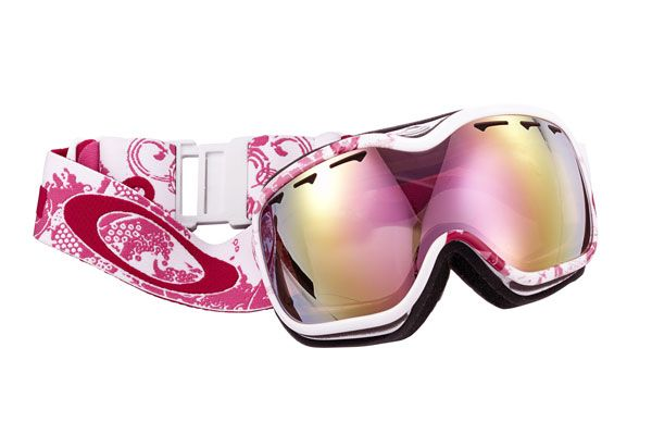 The reflective shield on these Oakley ski goggles helps you see clearly in low or bright light.     $150, Oakley.com; 20 dollars per sale goes to Young Survival Coalition.