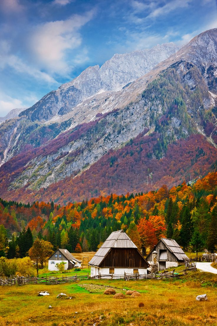 Autumn, Julian Alps, Slovenia Photo Vrsic par Andrej Štojs on 500px