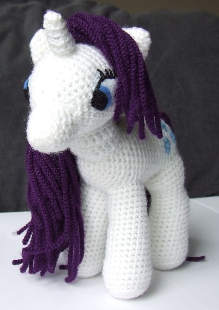 Knit One Awe Some: My Little Pony: Friendship is Magic   Free crochet pattern! #diy #crafts