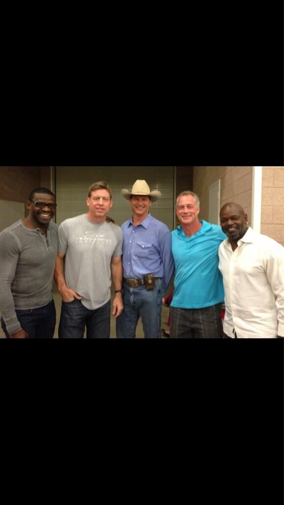 Michael Irvin, Troy Aikman, Jay Novacek, Daryl Johnston, Emmitt Smith  Dallas Cowboys - the best