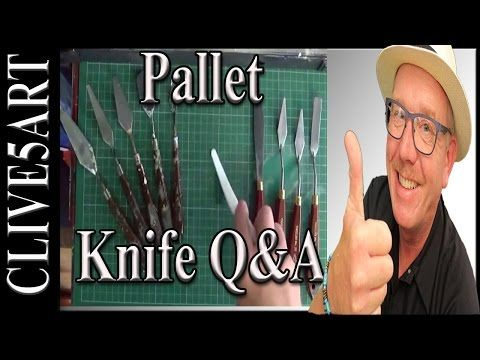 Pallet Knife, Acrylic Painting for beginners - YouTube