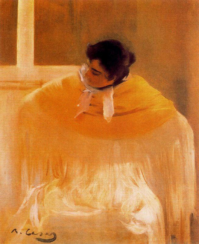 Chula, 1897-1898, by Ramón Casas i Carbó (Spanish, 1866-1932)