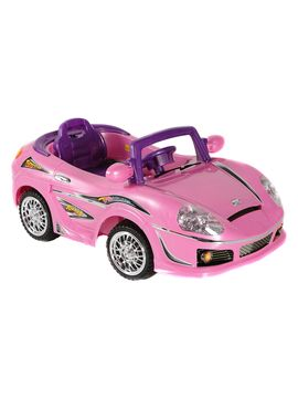 ride on cars toy for kids powered wheels convertible dream car pink new