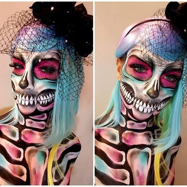 Creepy :) #facepainting #bodypaint #makeupartist #makeup #bodyart #diamond #diamondfx #dfx #halloweenmakeup #halloween #creepy #skull #skullmakeup #bones #darkness #dark #charakteryzacja #malowanietwarzy #sugarpaint #wroclaw #dolnyslask #dzierżoniów #dzierzoniow #fun #glitter #love #passion #hobby #art #claris