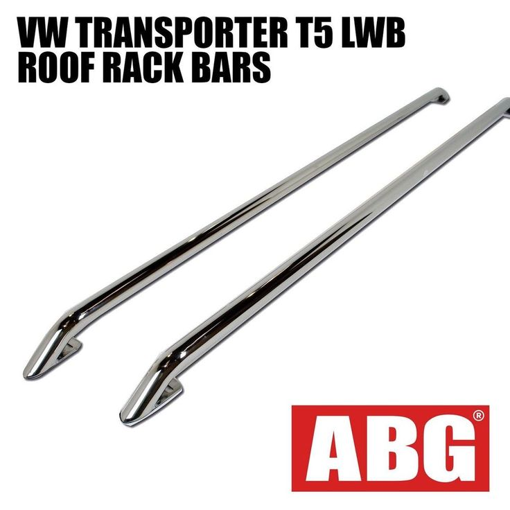For VW Transporter T5 T6 LWB Caravelle 2003 On Roof Rails OE Style Roof Bars