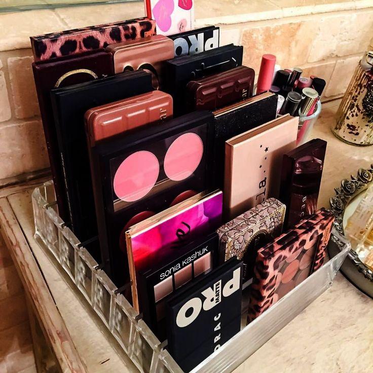 Makeup Geek High Tea. Makeup Shack Rose Gold Brush minus