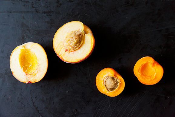 One-Ingredient Ice Cream 2.0: Flavors for Every Season: Peaches Pies, Recipes, Ice Cream Flavored, Roasted Peaches, Dairy Free, Peach Pies, Fruit Pit, Stones Fruit, Icecream