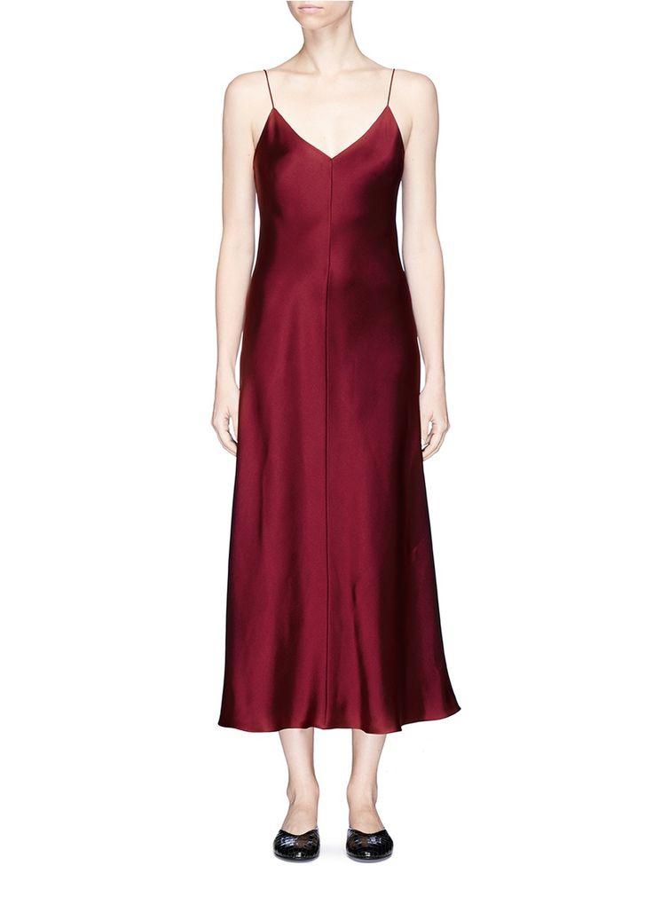 THE ROW 'Guinevere' silk satin slip dress