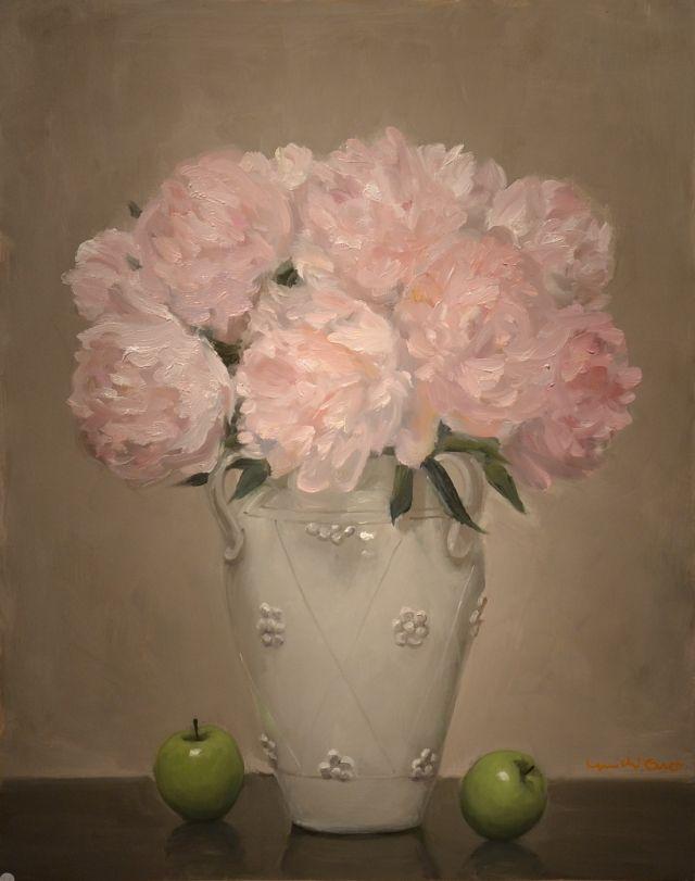 Yuichi Ono  — Peonies and Apples (648x811)