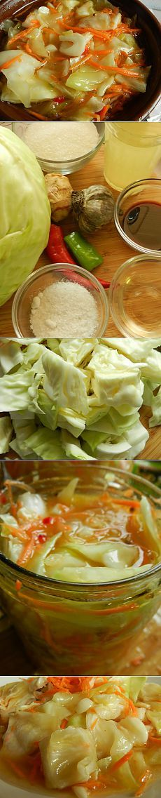 Рецепт на выходные: Капуста, маринованная в азиатском стиле | Изюминки