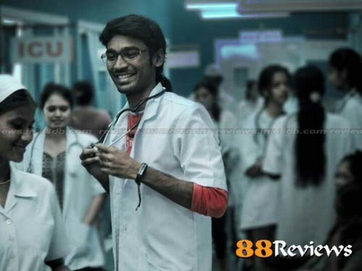 Dhanush in doctor outfit