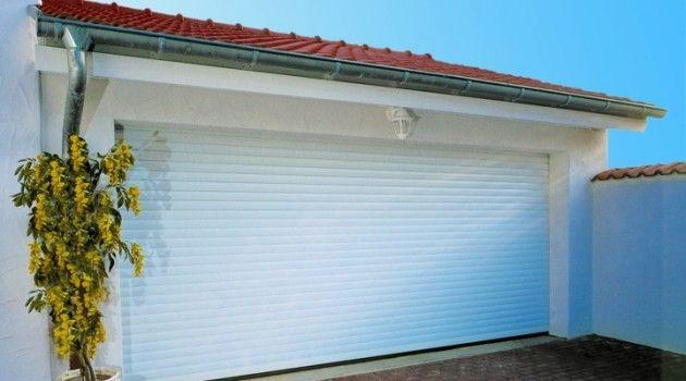 Porte de garage enroulable sur mesure BBC Menuiseries en direct du blog de Drôle de Plume !