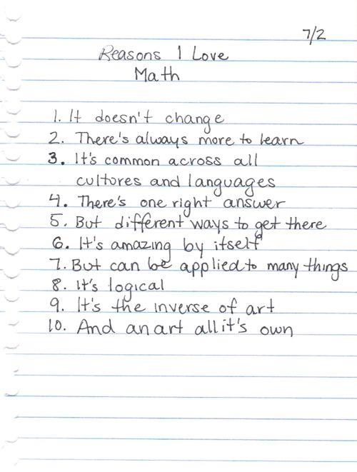 For my sister...the math teacher