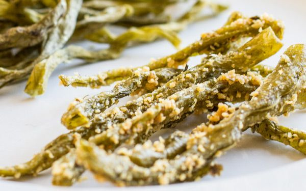 Fermented dehydrated spicy dilly green beans - I'll definitely be trying these!