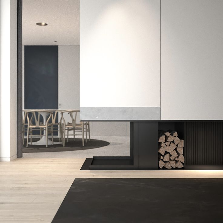 Interior by AD office - family home bright space