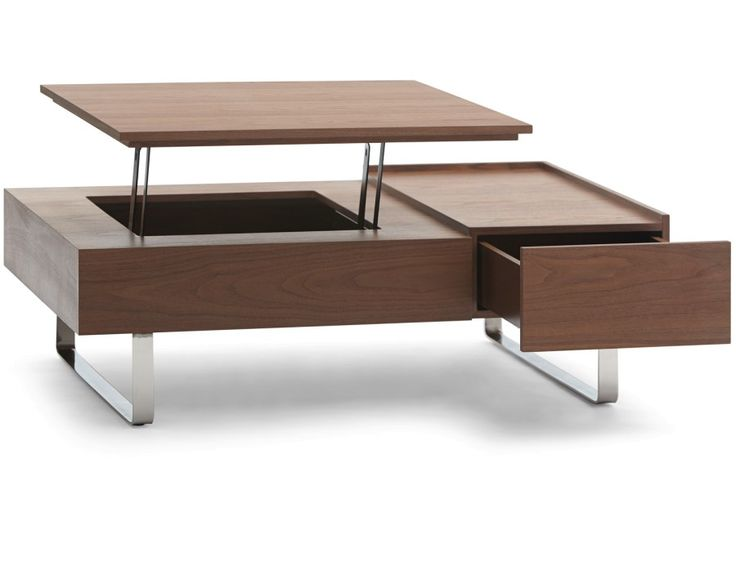 ($879) now $599 EVO - Storage coffee table - Walnut