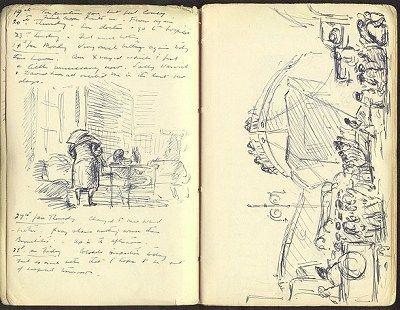 19-28 January 1944..Edward Ardizzone