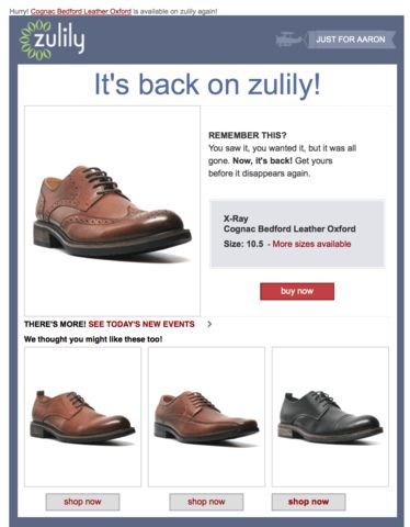 How to build Ecommerce business loyalty using confirmation emails