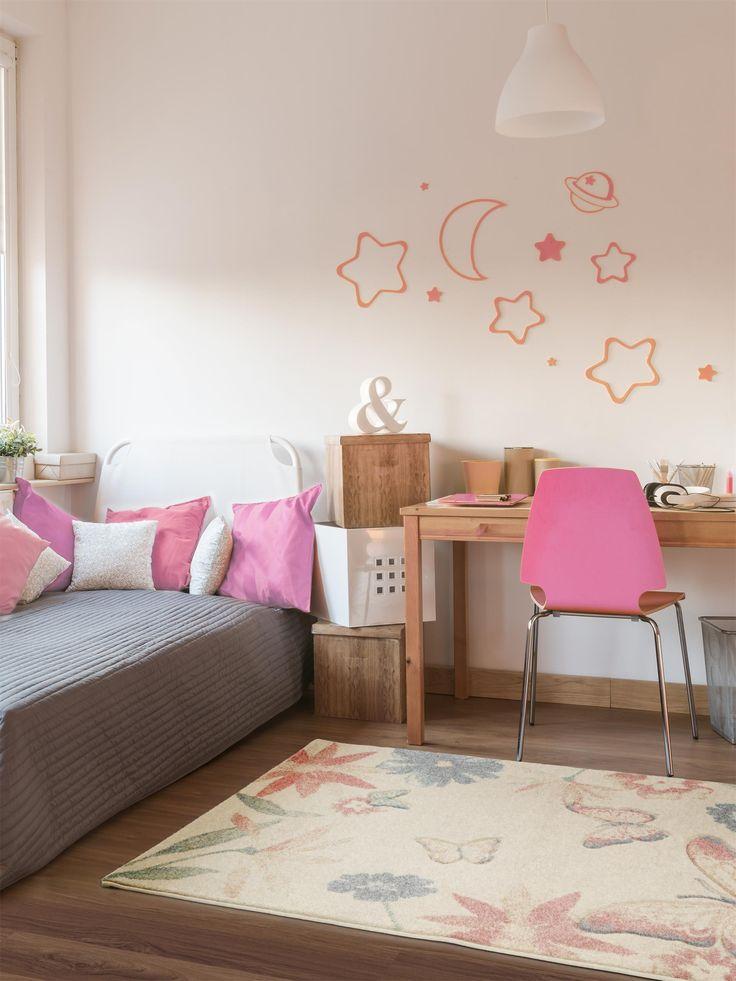 Teppiche mit Schmetterlingen und Blumen - ein Traum aller Mädchen.
