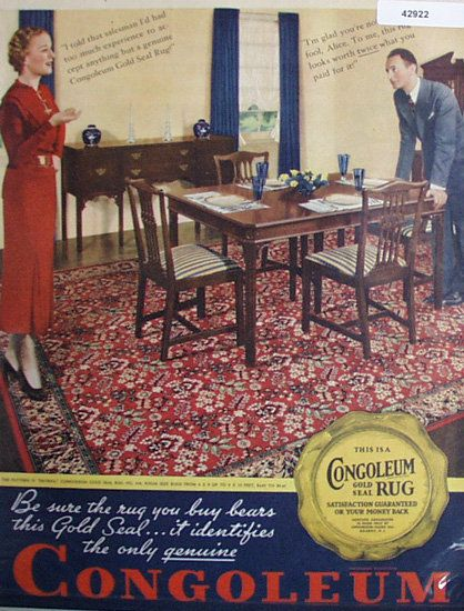 33 Best Linoleum Rugs C 1920s 1950s Images On Pinterest