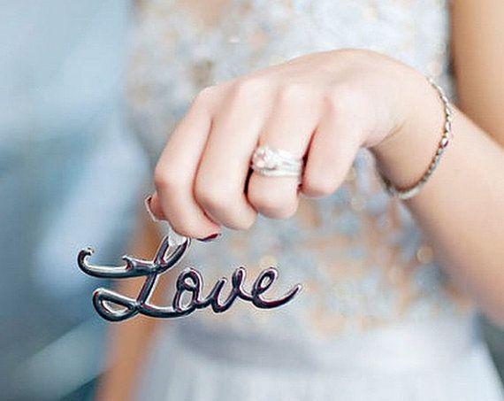 SET Love Bottle Opener Wedding Favor  Love Favor  by EventDazzle