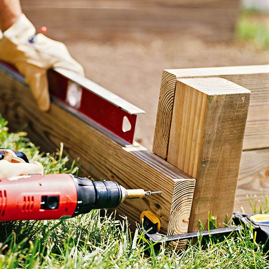 How to Build a Raised Bed or How my husband is going to help me create an amazing garden!