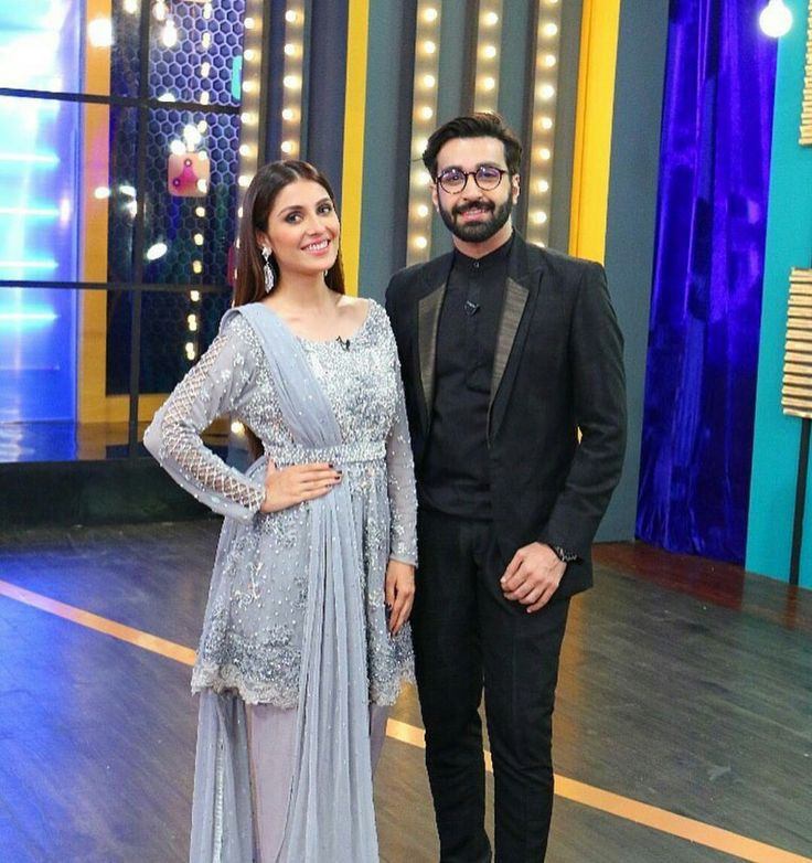 Beautiful Ayeza Khan with Afzal Rehman on the set of Upcoming Eid Show Only On Hum TV! ⚡ Wearing by #AnsabJahangirStudio Styled by #AnilaMurtaza #Gorgeous #AyezaKhan #AfzalRehman #EidShow #HUMTV #PakistaniActresses #PakistaniCelebrities  ✨