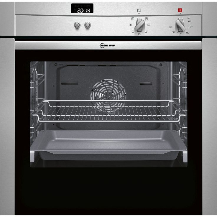 Built In Electric Cooker Part - 18: Buy Neff B44S43N3GB Single Built In Electric Oven - Stainless Steel   Marks  Electrical