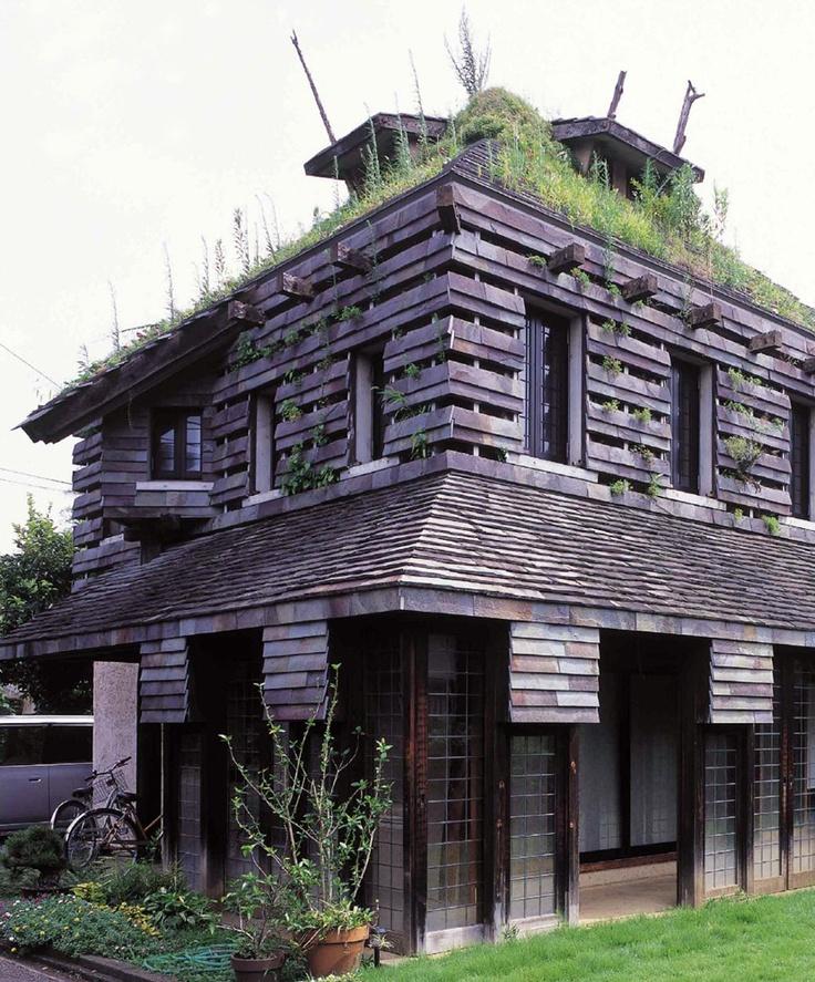 """""""A dandelion house"""" Terunobu Fujimori(藤森照信), Japan"""