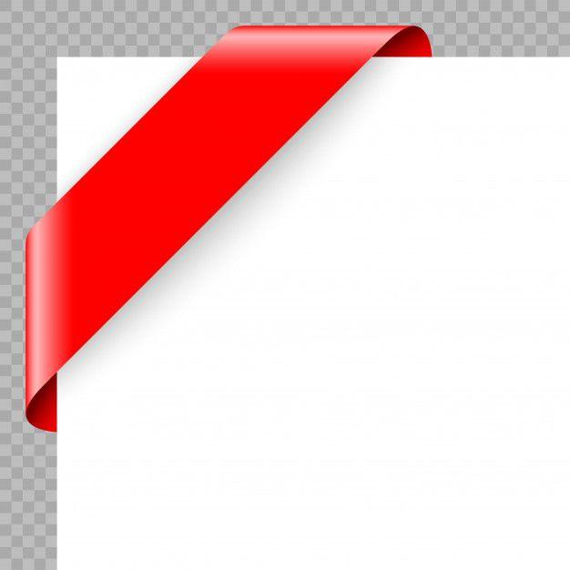 Corner Ribbon Or Banner On White Background White Background Ribbon Banner Banner
