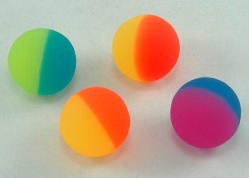 Two-tone Icy Super Bouncy Balls. they always broke. useless really