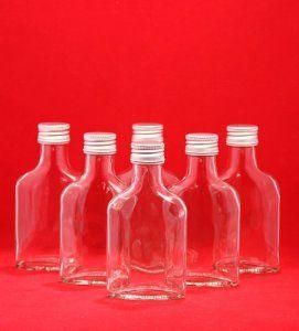 20 x 200 ml taschi bouteilles en verre avec bouchon à vis 200 ml Liqueur, Schnaps – Bouteilles vin slkfactory