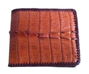 Crocodile skin wallet. Something unique and authentic. #Wallet #Best Wallet under 100 Dollars